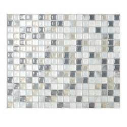 self stick kitchen backsplash tiles smart tiles 9 65 in x 11 55 in peel and stick mosaic