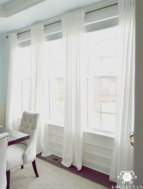 favorite white budget friendly curtains