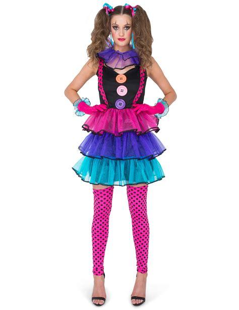 d 233 guisement clown du carnaval femme deguise toi achat