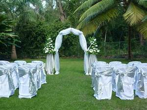 diy outside wedding decorations siudynet With decoration for garden wedding