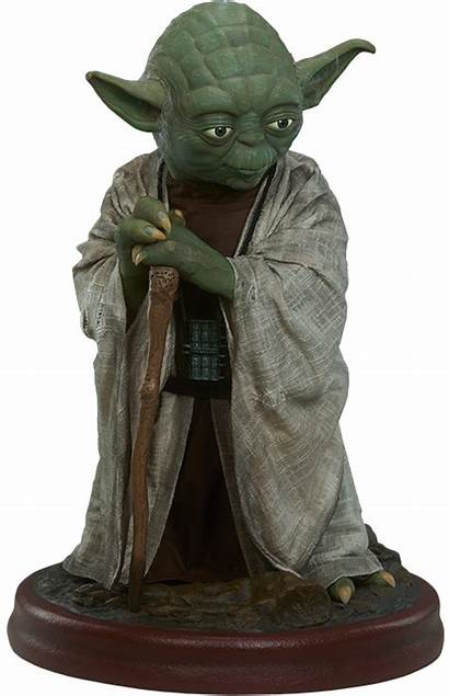 Yoda Wars Star Sideshow Collectibles Figure Collectible