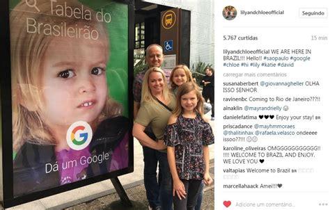 Chloe Internet Meme - chloe do melhor meme est 225 no brasil e se encontrou com a giovanna do forninho glamour must