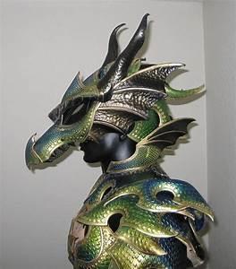 Stunning Dragon Armor. Just. Wow. (deviantart: azmal ...