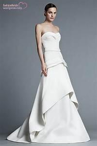 j mendel 2015 spring bridal collection the fashionbrides With j mendel wedding dress