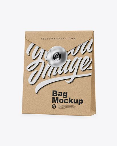 We made a list of free, stunning looking and high quality bag mockups for your designs. Kraft Snack Bag Mockup - Kraft Paper Shopping Bag Mockup ...