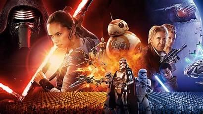 Wars Star Episode Wallpapers Desktop Force Awakens