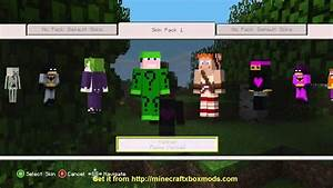 Minecraft Xbox New Skins No Jtag Required YouTube