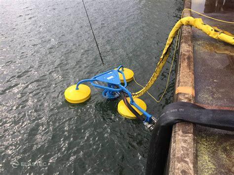 oceanskater weir oil skimmer elastec