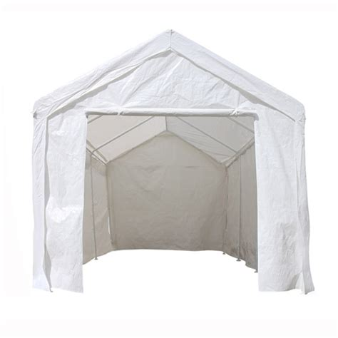 carport tent     outdoor carport  steel legs white sc  st abba patio