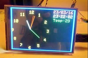 4 U201d Tft Analog-gps Clock On Arduino
