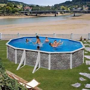 Sable Piscine Hors Sol : piscine hors sol gre cerdena 610 x 375 h120 cm kit610po mypiscine ~ Farleysfitness.com Idées de Décoration