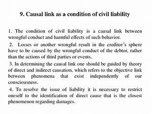 Civil Liability in the Context of Eonomic Analysis of ...