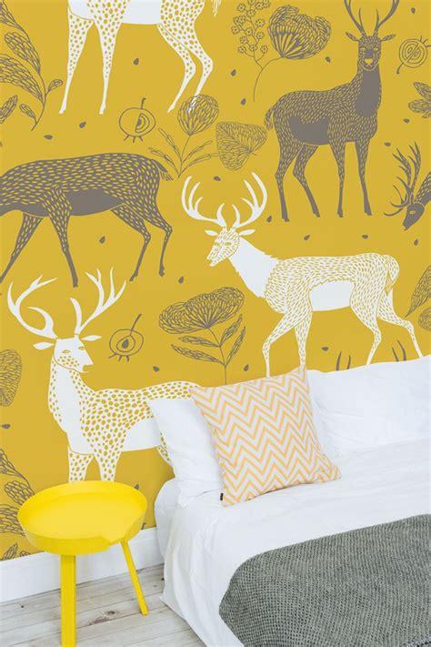 mustard wallpaper ideas  pinterest