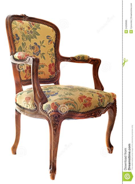 furniture vintage style antique chair stock image image of ornament relax 1142
