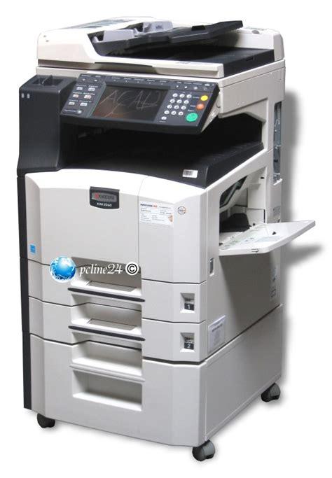 kyocera km  mfp fax kopierer din  adf duplex scanner