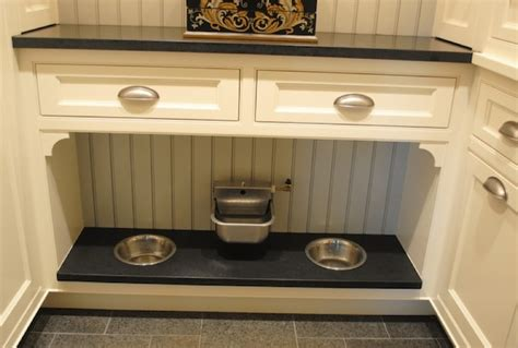 Pet Food Cabinet With Bowls by Clever Ways To Organize Your Pet S Area