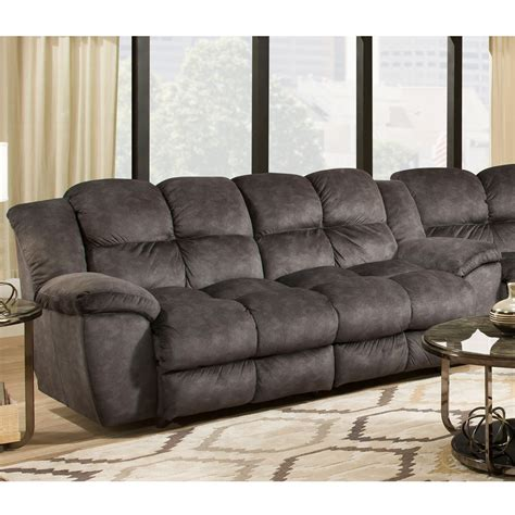 skye microfiber power reclining sofa the cloud 4 seat power reclining sofa refil sofa