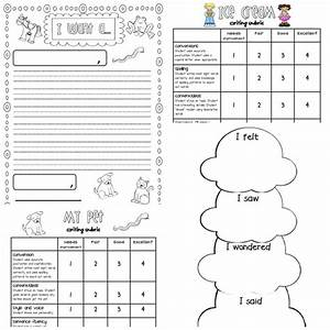 Writing Rubrics For Primary Grades