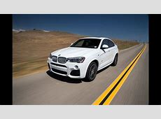 BMW X4 xDrive 35i Touch and Feel review 2017 YouTube