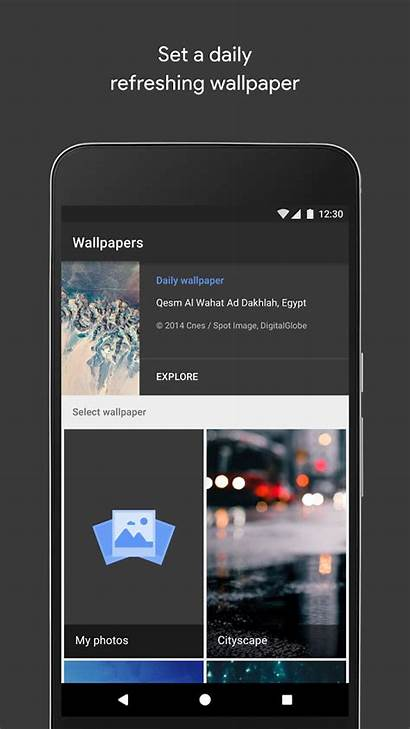 Wallpapers Google App Android Play Apps Install