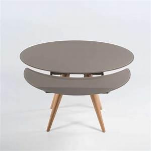 Table Ronde Extensible Bois : table ronde a rallonges design mr66 jornalagora ~ Teatrodelosmanantiales.com Idées de Décoration