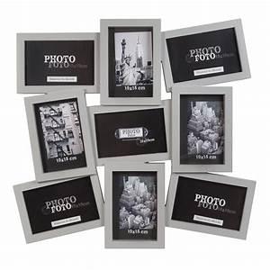 Maison Du Monde Cadre Photo : cadre photo gris 9 vues nolan maison du monde plan de table pinterest cadres photos ~ Teatrodelosmanantiales.com Idées de Décoration