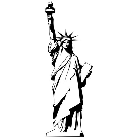 Statue Of Liberty Clipart Statue Liberty Clipart Clipground