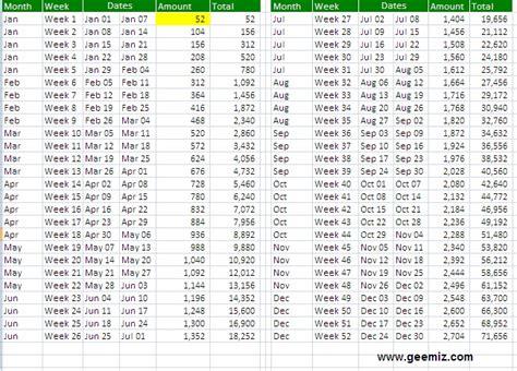 weekly calendar geemiz