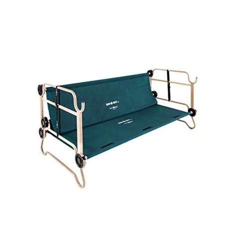 disc o bed cam o bunk combo with 2 organizers and 1