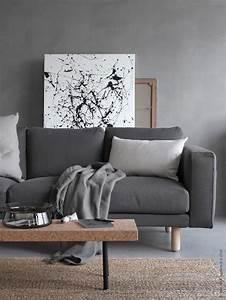 Ikea Sofa Norsborg : decordots shades of grey ikea norsborg sofa ~ Frokenaadalensverden.com Haus und Dekorationen