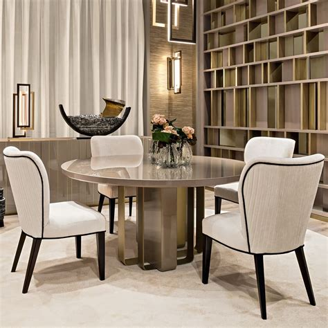 Chairs And Furniture by Luxury Italian Designer Dining Table And Chairs Set