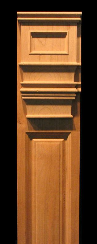 carved wood columns capitals  pilasters carved