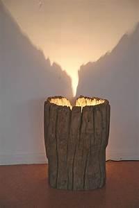 Lampe Aus Baumstamm : baumstamm lampe glas pendelleuchte modern ~ Orissabook.com Haus und Dekorationen