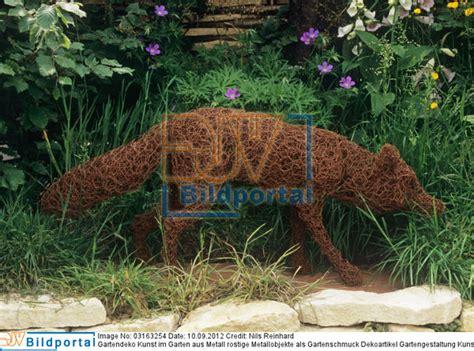 Gartenschmuck Aus Metall by Details Zu 0003163254 Gartendeko Kunst Im Garten Aus