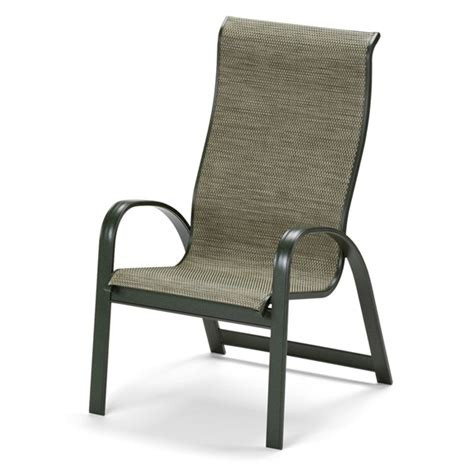 Sling Back Stackable Patio Chairs by Telescope Casual Primera Sling Supreme Stacking Arm Chair