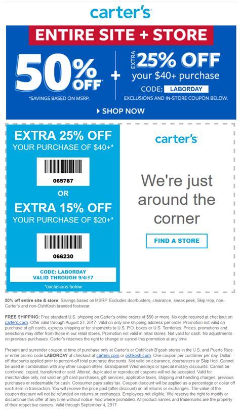 carters coupons      carters