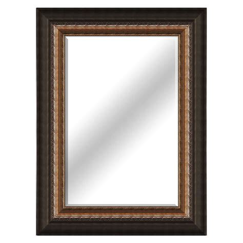 beveled gold mirror  home
