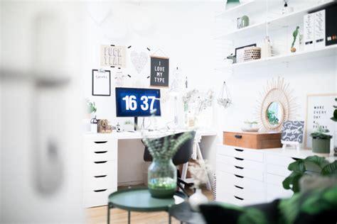 Ikea Le Arbeitszimmer by Mein Neues Home Office Ordnung Und Dekoration Teil 1