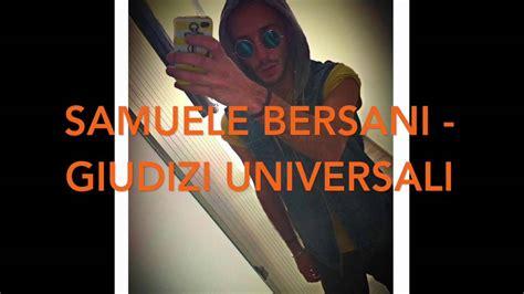 Samuele Bersani  Giudizi Universali (cover By Enzo Asuni