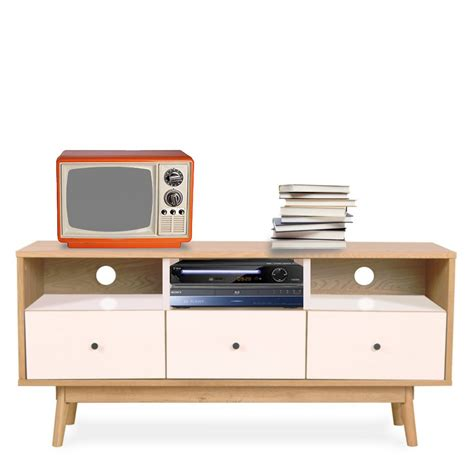 canapé desing meuble tv scandinave skoll by drawer