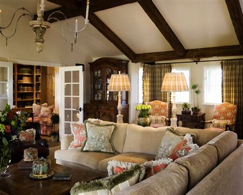 french provencal traditional living room