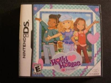 holly hobbie friends nintendo ds  hey girls club complete nintendo ds games