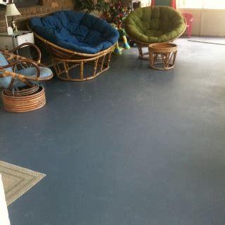 concrete patio floor painted backyard
