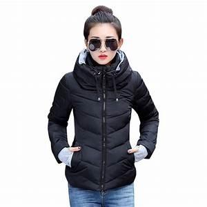 Winter Jacket Women Cotton Short Jacket 2017 New Girls ...