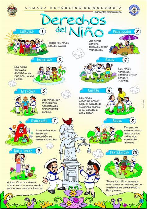 derechos del nino manualidades infantiles derechos