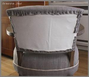 Tapisser Une Chaise : tuto pour fauteuil bridge de tout et de d co sieges pinterest fauteuil fauteuil ~ Melissatoandfro.com Idées de Décoration