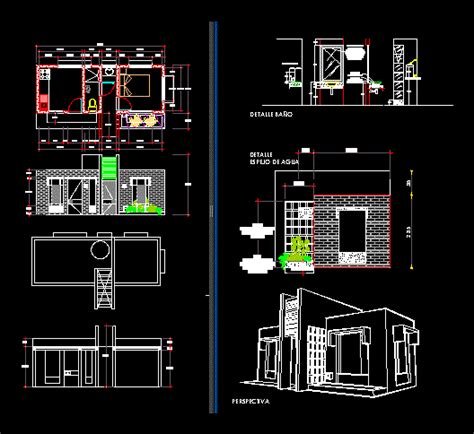 project country house  autocad  cad