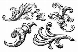 Swirl Baroque Design Pictures to Pin on Pinterest - TattoosKid