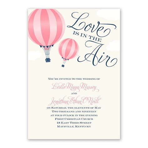 love    air invitation invitations  dawn