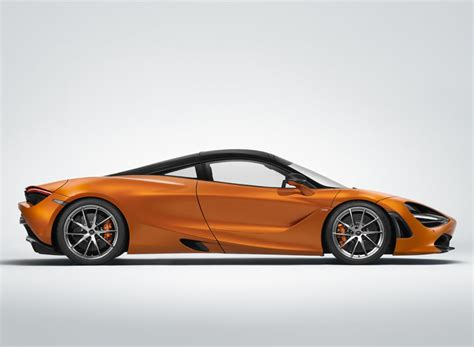 Mclaren 720s Supercar's Dihedral Doors Channel Air To Cool